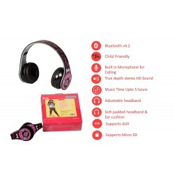 Buy Ramson Barbie Wireless Bluetooth Headphones Online in India