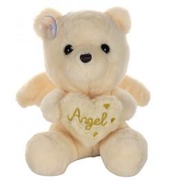 Buy Dhoom Soft Toys Angel Bear 22 CM-Beige Online in India