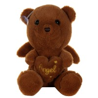Dhoom Soft Toys Angel Bear 22 CM-Brown