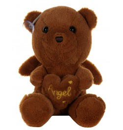 Buy Dhoom Soft Toys Angel Bear 22 CM-Brown Online in India
