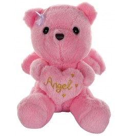Buy Dhoom Soft Toys Angel Bear 22 CM-Pink Online in India