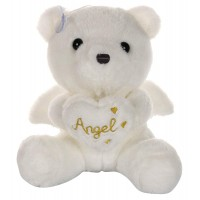 Dhoom Soft Toys Angel Bear 22 CM-White
