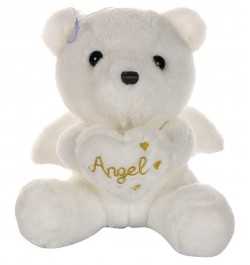 Buy Dhoom Soft Toys Angel Bear 22 CM-White Online in India
