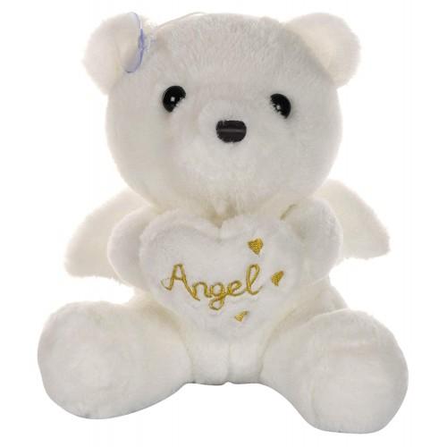 Dhoom Soft Toys Angel Bear 22 CM-White