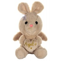 Dhoom Soft Toys Angel Rabbit 22 CM-Beige