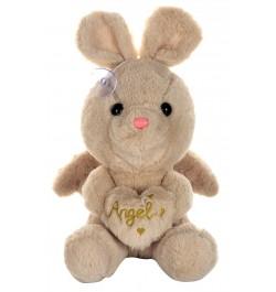 Buy Dhoom Soft Toys Angel Rabbit 22 CM-Beige Online in India