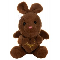 Dhoom Soft Toys Angel Rabbit 22 CM-Brown