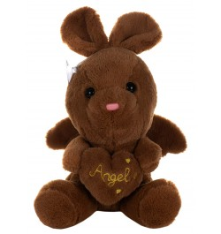 Buy Dhoom Soft Toys Angel Rabbit 22 CM-Brown Online in India