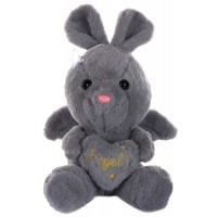 Dhoom Soft Toys Angel Rabbit 22 CM-Grey