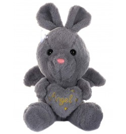 Buy Dhoom Soft Toys Angel Rabbit 22 CM-Grey Online in India