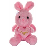 Dhoom Soft Toys Angel Rabbit 22 CM-Pink