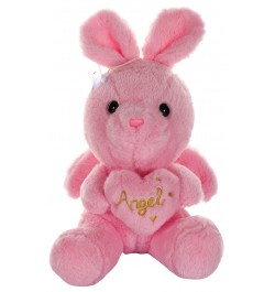 Buy Dhoom Soft Toys Angel Rabbit 22 CM-Pink Online in India