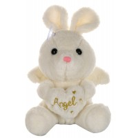 Dhoom Soft Toys Angel Rabbit 22 CM-White