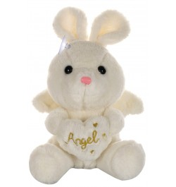 Buy Dhoom Soft Toys Angel Rabbit 22 CM-White Online in India