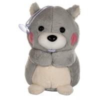 Dhoom Soft Toys Bear Hangings 22 CM-Grey