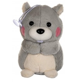 Buy Dhoom Soft Toys Bear Hangings 22 CM-Grey Online in India