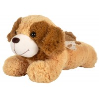 Dhoom Soft Toys Dog Lying 30 CM-Brown