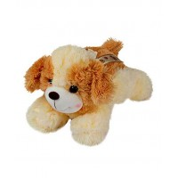 Dhoom Soft Toys Dog Lying 30 CM-Cream