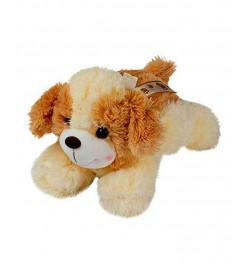 Dhoom Soft Toys Dog Lying 30 CM-Cream