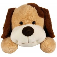 Dhoom Soft Toys Dog Lying with Dress 65 CM