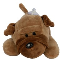 Dhoom Soft Toys Dog Sharpie Hangings 20 CM-Brown