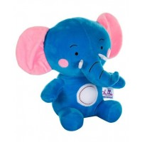 Dhoom Soft Toys Elephant 30 CM-Blue Pink