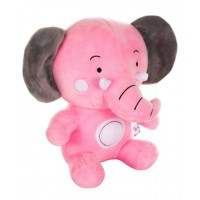 Dhoom Soft Toys Elephant 30 CM-Pink Grey