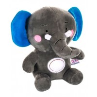 Dhoom Soft Toys Elephant 30 CM-Grey Blue