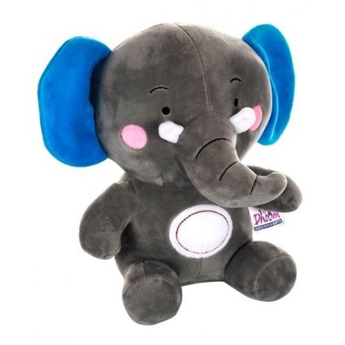 Dhoom Soft Toys Elephant 30 CM-Grey Blue