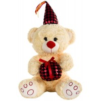 Dhoom Soft Toys Gift Bear 30 CM-Red