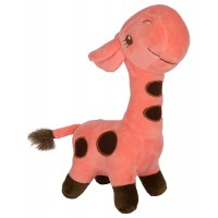 Dhoom Soft Toys Giraffe 35 CM-Dark Peach