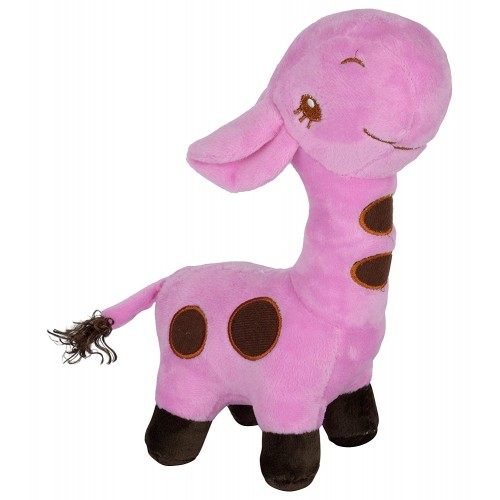 Dhoom Soft Toys Giraffe 35 CM-Purple
