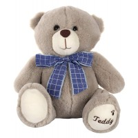 Dhoom Soft Toys Teddy Bear 22 CM-Grey