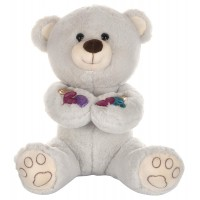 Dhoom Soft Toys Teddy Bear 35 CM-Grey