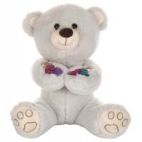 Dhoom Soft Toys Teddy Bear 35 CM-Grey