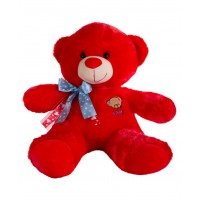 Dhoom Soft Toys Teddy Bear 45 CM-Red