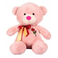 Dhoom Soft Toys Teddy Bear 60 CM-Rose Patch Pink