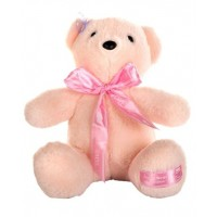Dhoom Soft Toys Teddy Bear Hangings 22 CM-Bow Cream