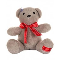 Dhoom Soft Toys Teddy Bear Hangings 22 CM-Bow Grey