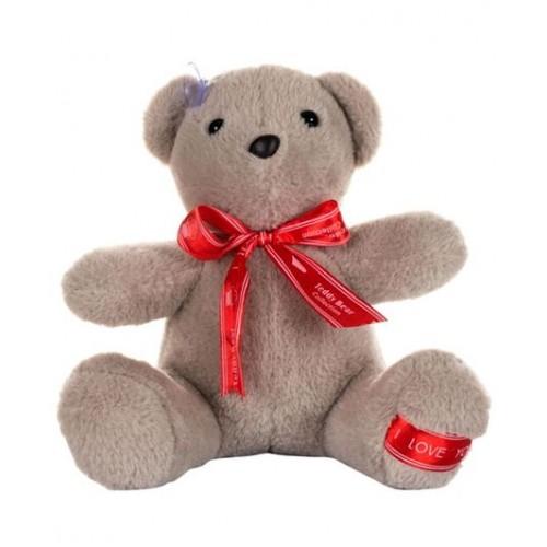 Dhoom Soft Toys Teddy Bear Hangings 22 CM-Bow Grey