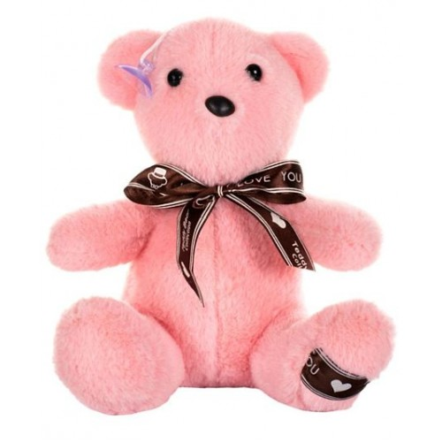 Dhoom Soft Toys Teddy Bear Hangings 22 CM-Bow Pink