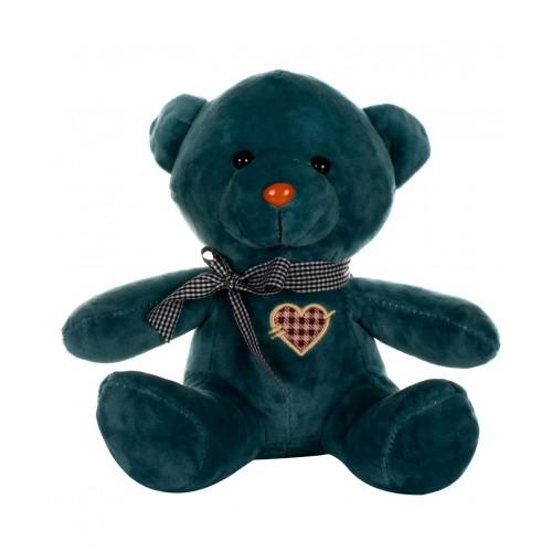 Dhoom Soft Toys Teddy Bear Multicolor 24 CM-Blue