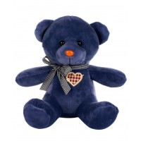 Dhoom Soft Toys Teddy Bear Multicolor 24 CM-Light Blue