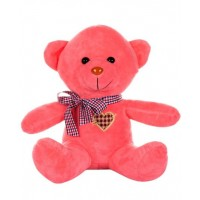 Dhoom Soft Toys Teddy Bear Multicolor 24 CM-Peach