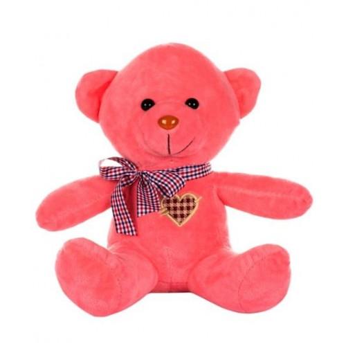 Dhoom Soft Toys Teddy Bear Multicolor 24 CM-Peach