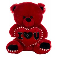Dhoom Soft Toys Teddy Bear with Heart 30 CM