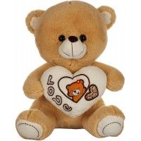 Dhoom Soft Toys Teddy Bear with Heart 40 CM