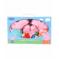 Peppa Pig Family Soft Toy Gift Box Combo of 4 - Multi Color