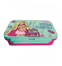 My Baby Excels Barbie Future Scientist Plastic Lunch Box