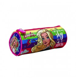 My Baby Excels Barbie Stars Round Pouch